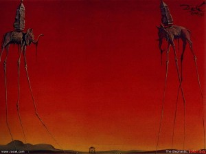 3Salvador-Dali-The-Elephants