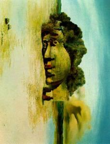 paranoic visage-Dali